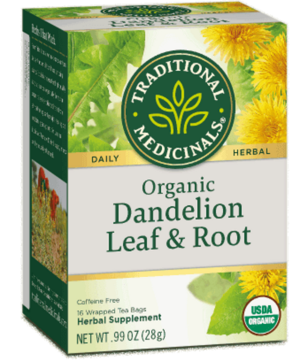 Traditional Medicinals Roasted Dandelion Root 16Ct