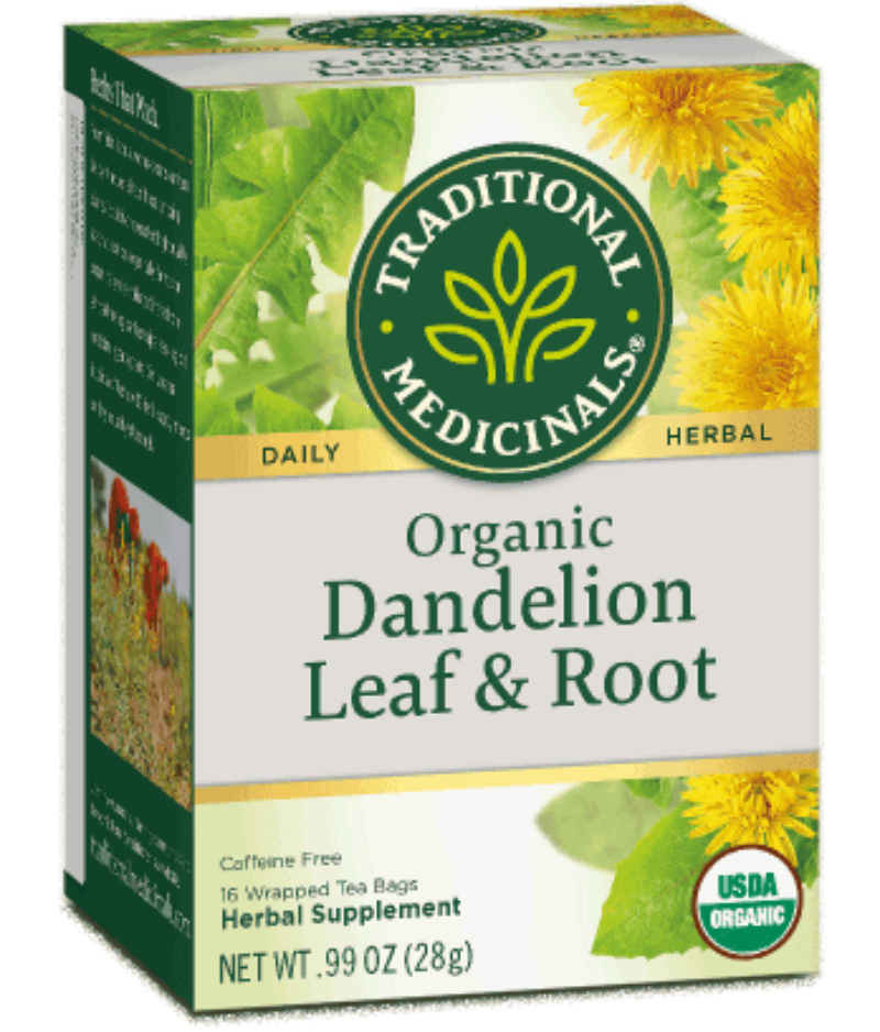 Traditional Medicinals Roasted Dandelion Root 16Ct-Teas-The Scarlet Sage Herb Co.