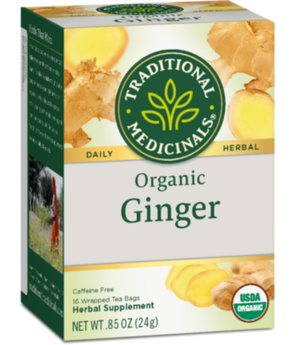 Traditional Medicinals Ginger 16ct-Teas-The Scarlet Sage Herb Co.