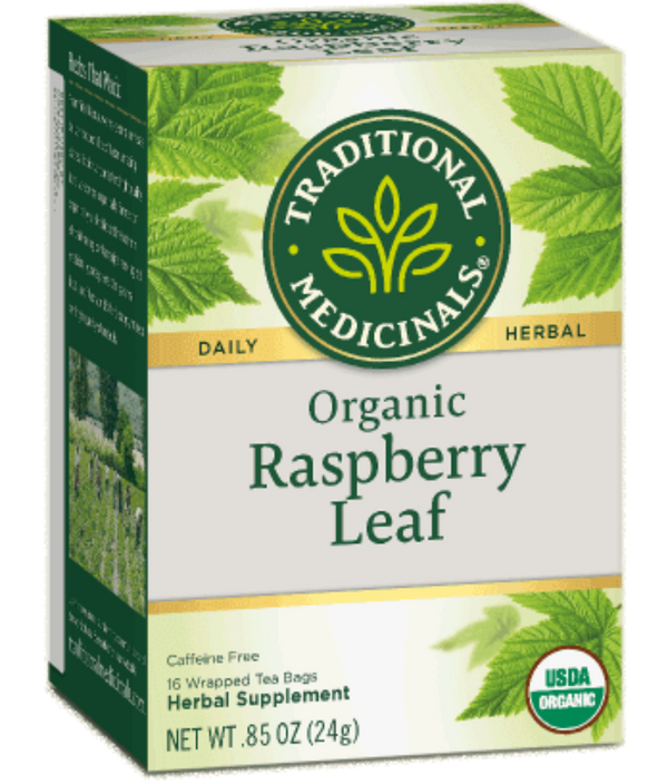 Traditional Medicinals Raspberry Leaf 16Ct-Teas-The Scarlet Sage Herb Co.