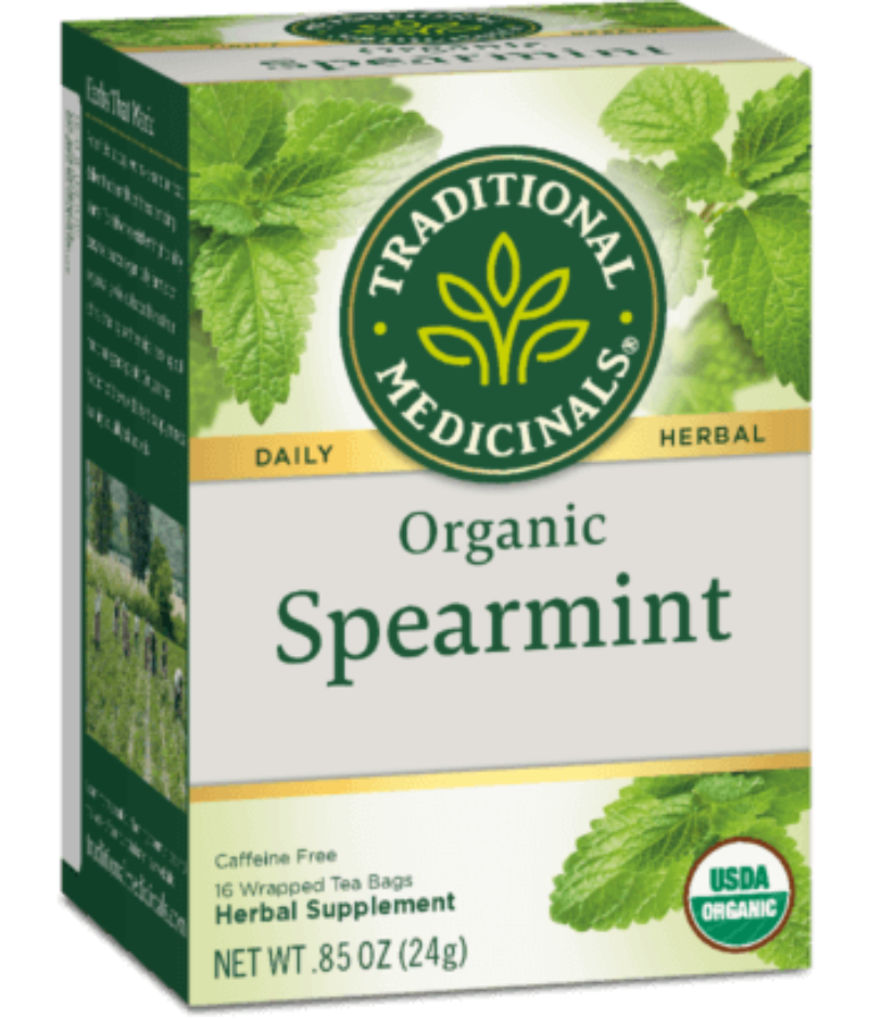 Traditional Medicinals Spearmint 16 Ct-Teas-The Scarlet Sage Herb Co.