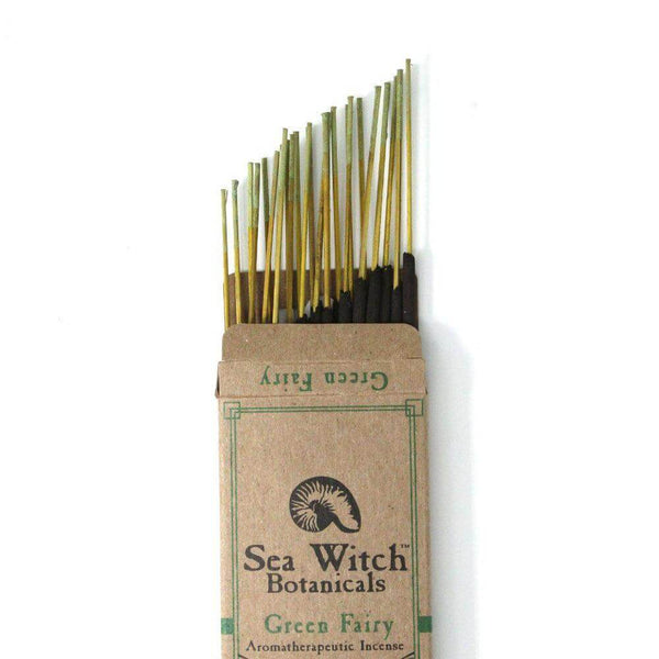 Sea Witch Botanicals Incense Green Fairy 25ct - The Scarlet Sage Herb Co.
