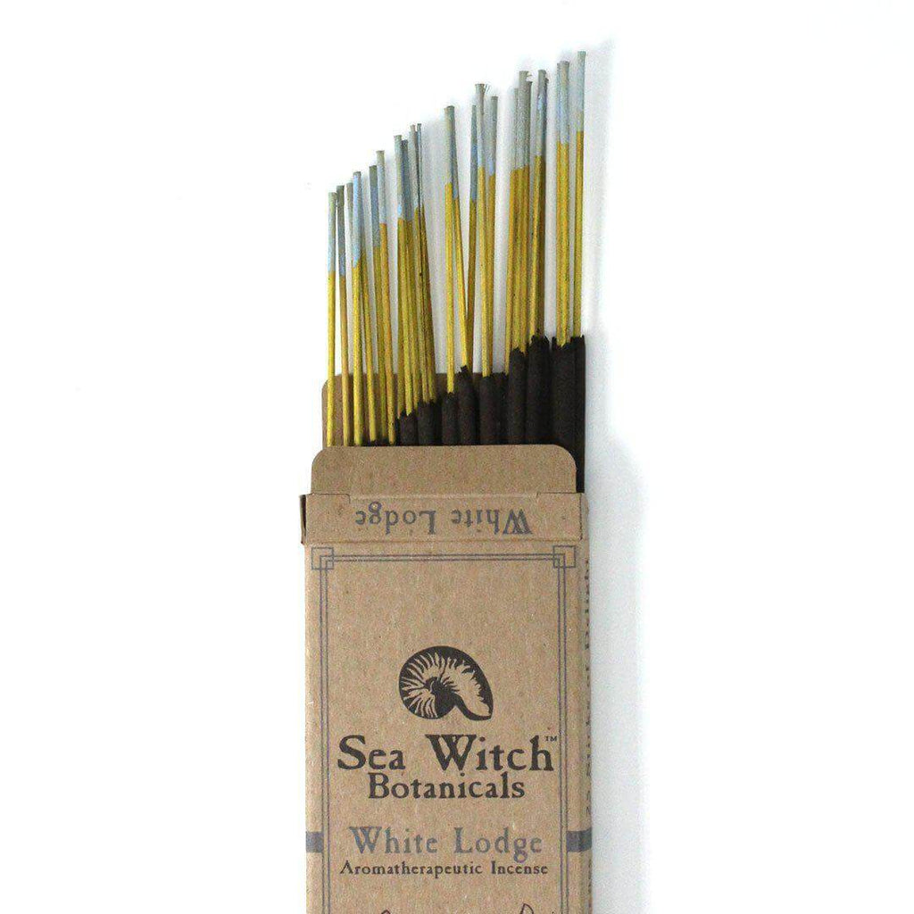 Sea Witch Botanicals Incense White Lodge 25ct - The Scarlet Sage Herb Co.