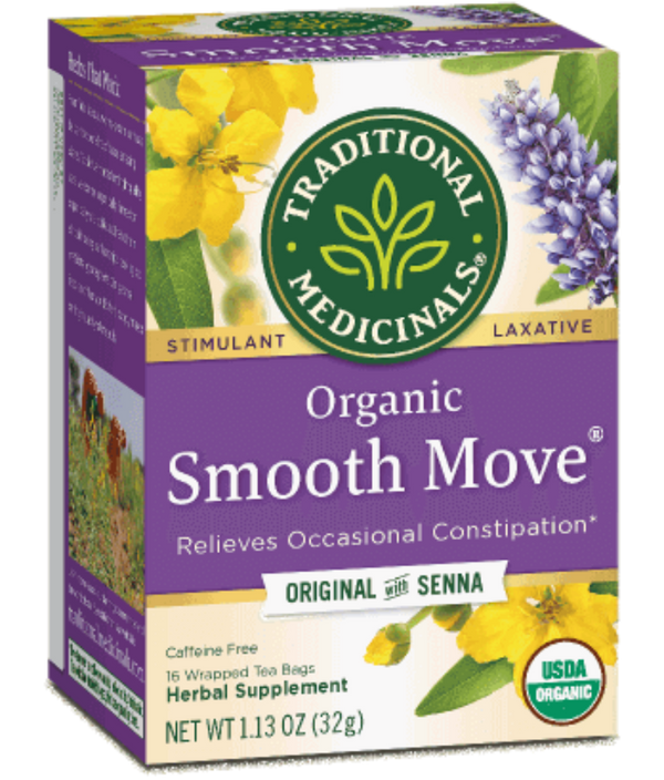 Traditional Medicinals Smooth Move 16Ct-Teas-The Scarlet Sage Herb Co.