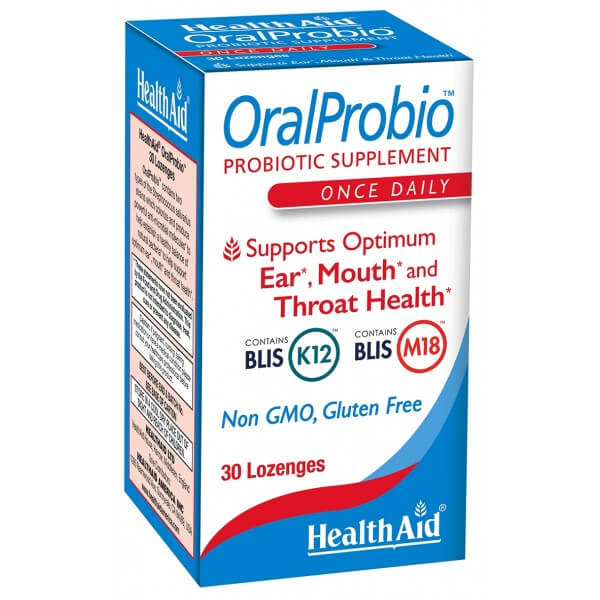 Health Aid OralProbio Chewable Tablets 30ct - The Scarlet Sage Herb Co.