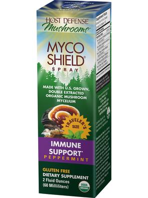 Host Defense MycoShield Peppermint - The Scarlet Sage Herb Co.