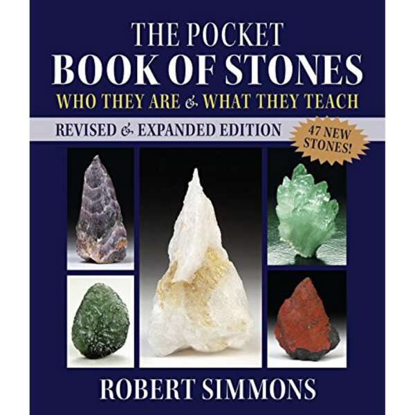 The Pocket Book Of Stones by Robert Simmons-Books-The Scarlet Sage Herb Co.