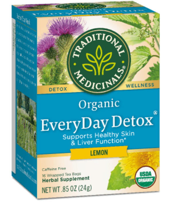 Traditional Medicinals Everyday Detox Lemon 16ct