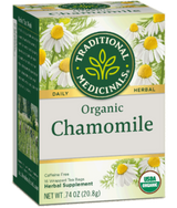 Traditional Medicinals Chamomile 16ct-Teas-The Scarlet Sage Herb Co.