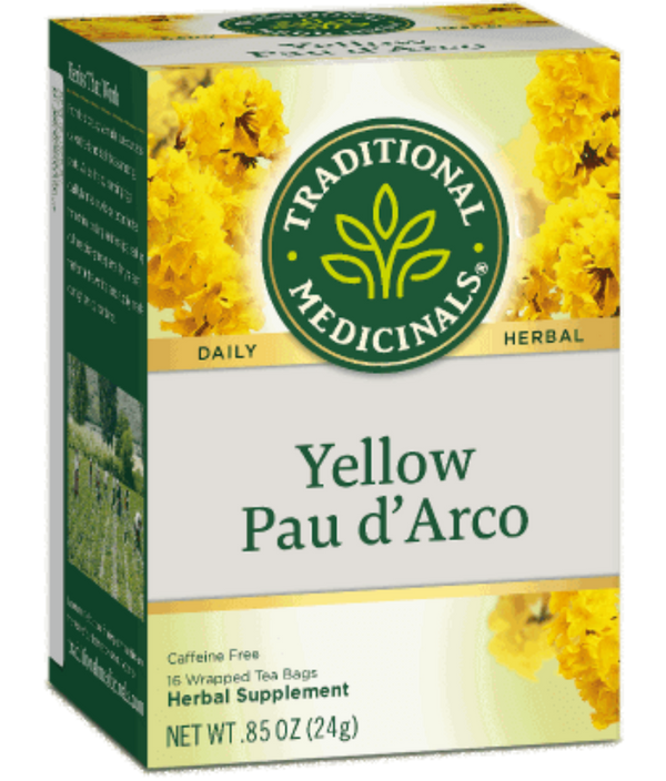 Traditional Medicinals Pau d'Arco 16Ct
