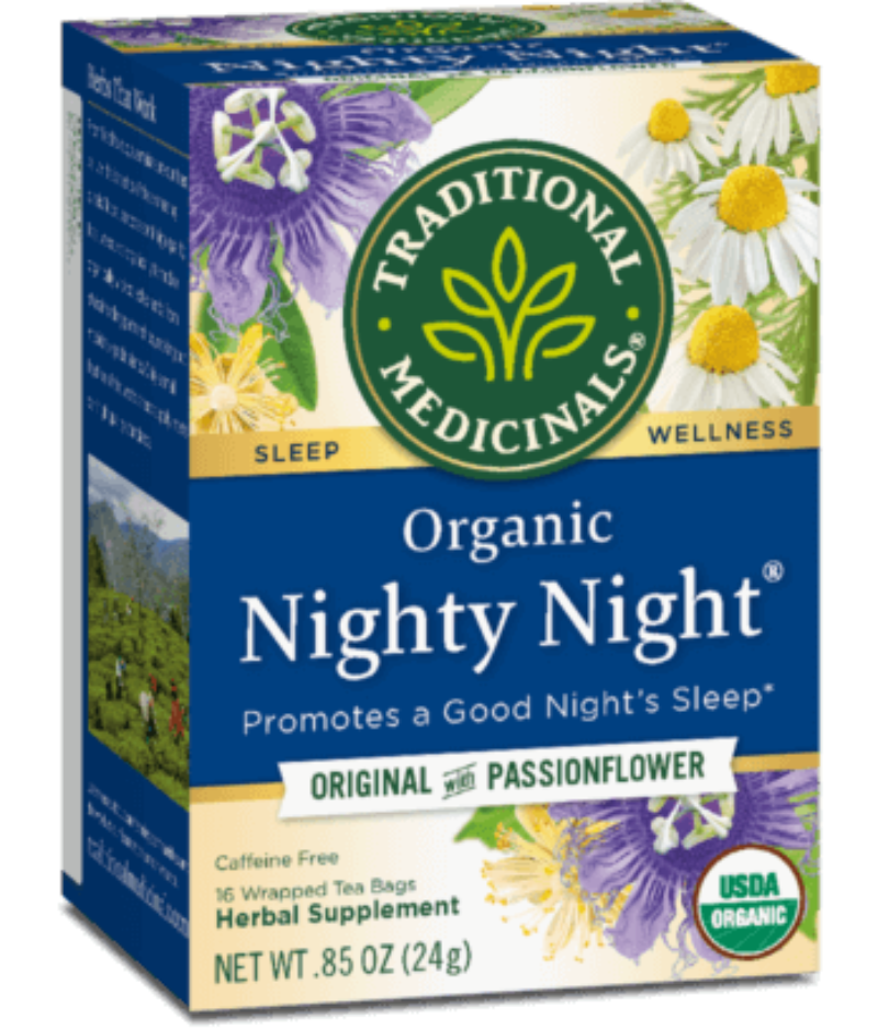 Traditional Medicinals Nighty Night 16ct-Teas-The Scarlet Sage Herb Co.