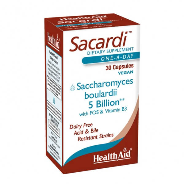 Health Aid Sacardi 5 Billion 30 Ct - The Scarlet Sage Herb Co.