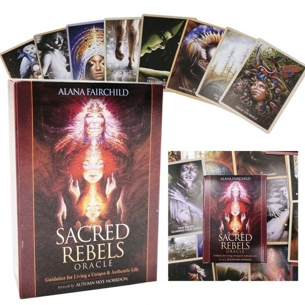 Sacred Rebels Oracle-The Scarlet Sage Herb Co.