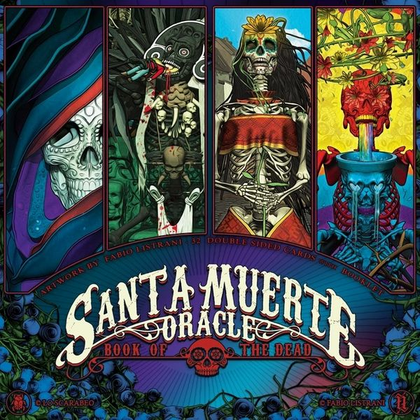 Santa Muerte Oracle-The Scarlet Sage Herb Co.