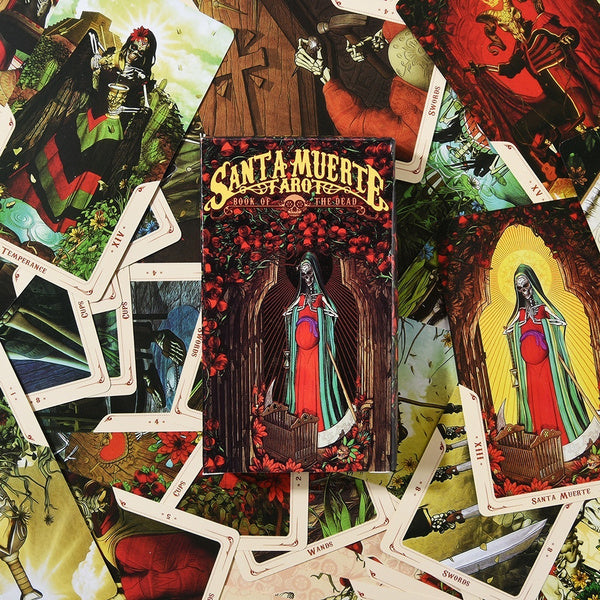 Santa Muerte Tarot Deck-The Scarlet Sage Herb Co.