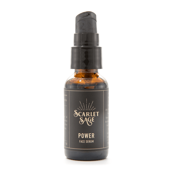 Power Facial Serum - The Scarlet Sage Herb Co.