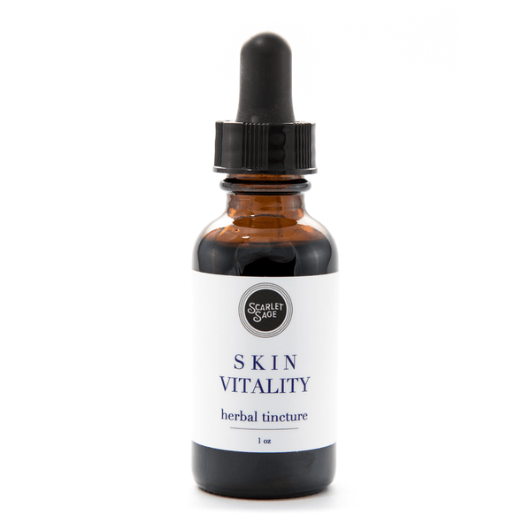 Skin Vitality - The Scarlet Sage Herb Co.