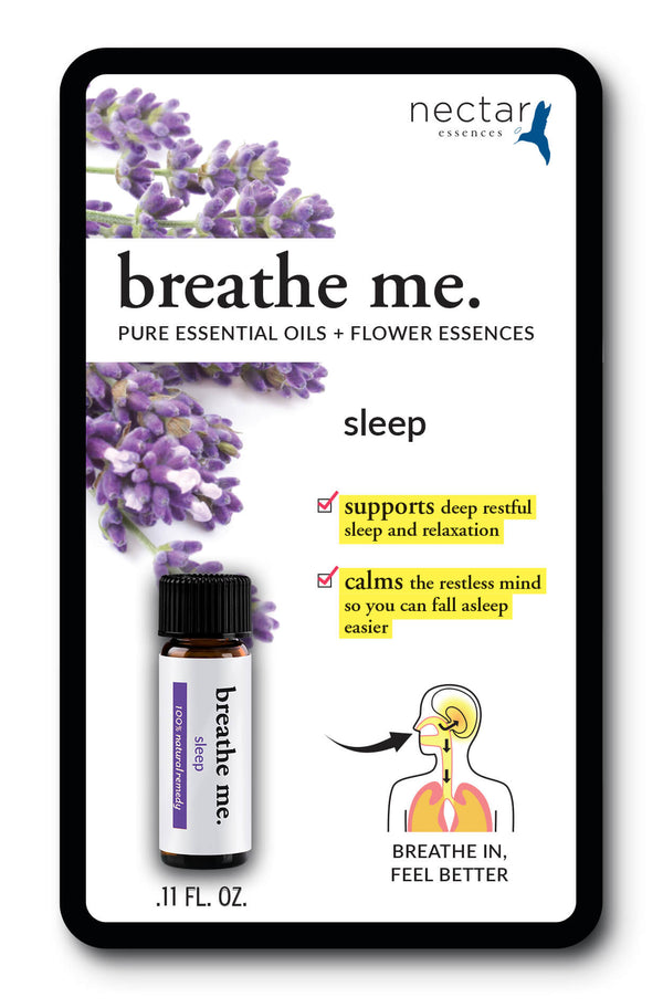 Nectar Essences Breathe Me Sleep .11 fl oz. - The Scarlet Sage Herb Co.