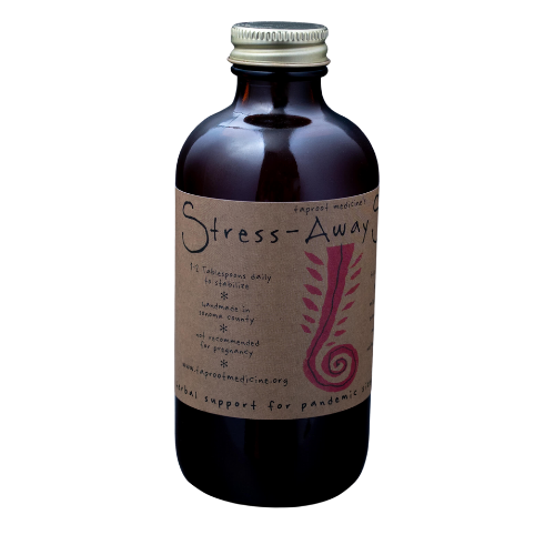 Taproot Stress-Away Syrup-Supplements-The Scarlet Sage Herb Co.