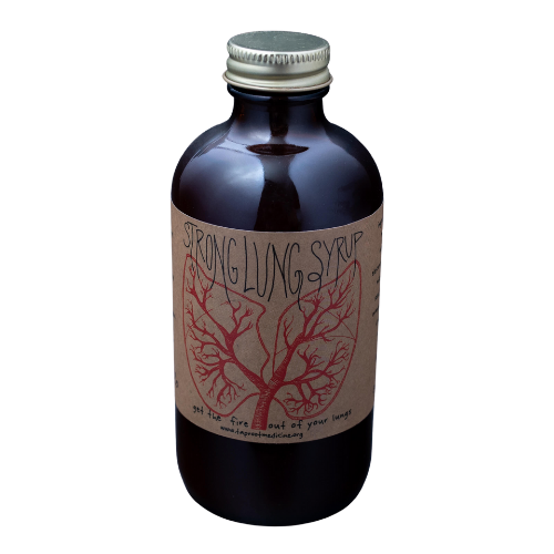 Taproot Strong Lung Syrup 8oz-Tinctures-The Scarlet Sage Herb Co.