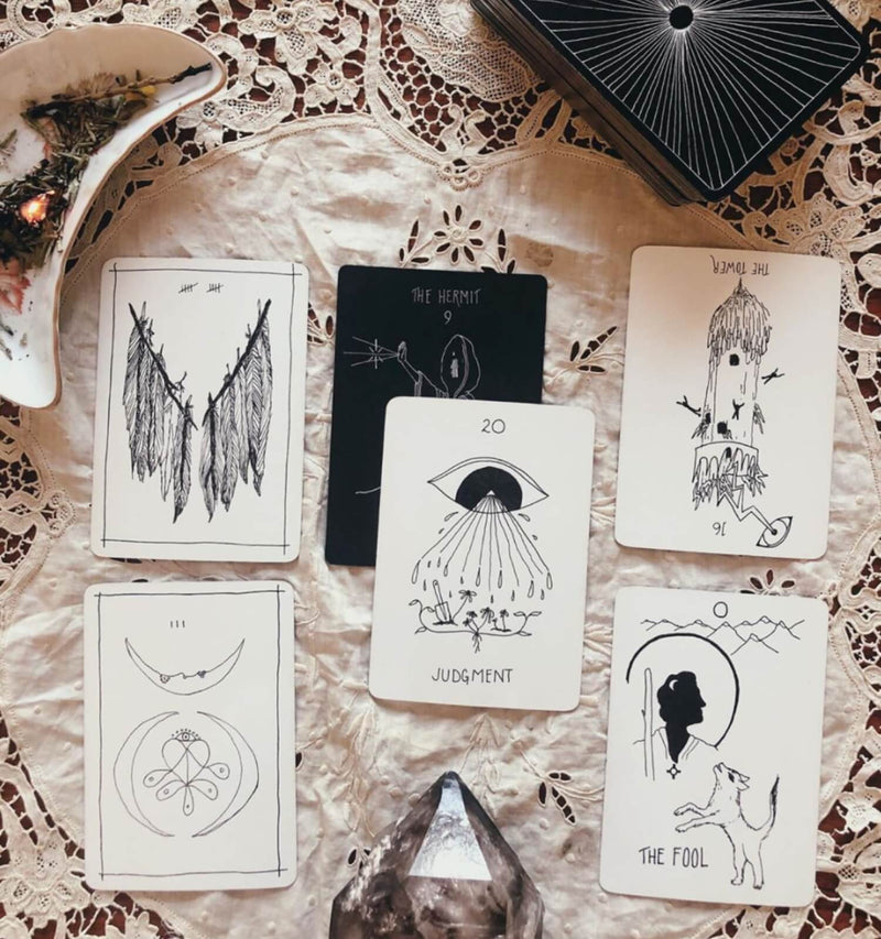Online Class: Tarot as Compass: Navigating the Unknown with Casey Zabala, April 9th, 6-7:30pm - The Scarlet Sage Herb Co.