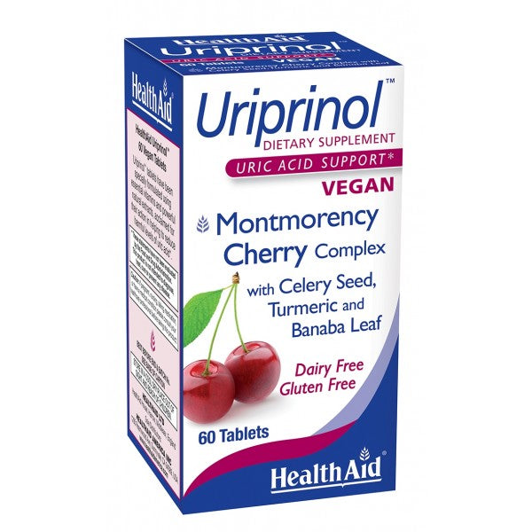 Health Aid Uriprinol Tablets 60 Ct-Supplements-The Scarlet Sage Herb Co.