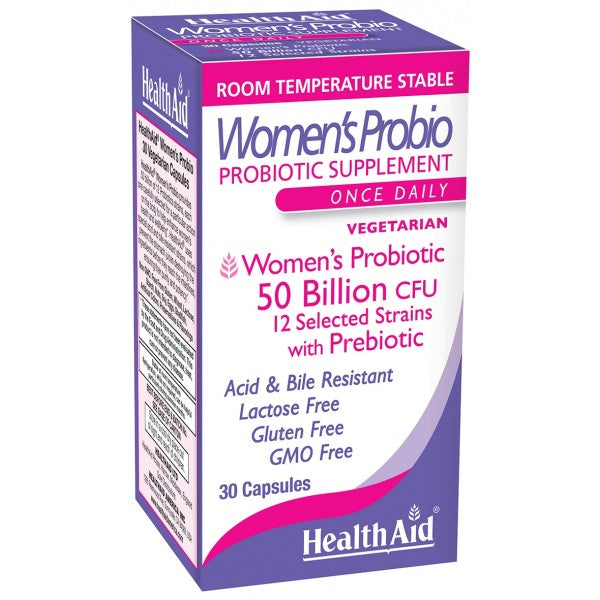 Health Aid Women's Probio 50 Billion 30ct - The Scarlet Sage Herb Co.