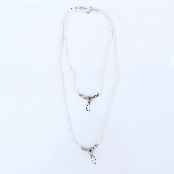Handmade White Necklace