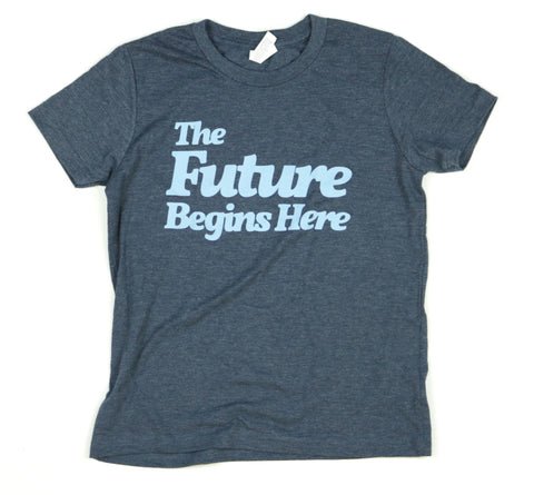 The Future Begins Here Youth Unisex Tee