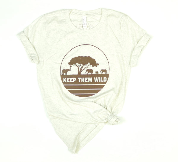 Keep Them Wild Adult Tee
