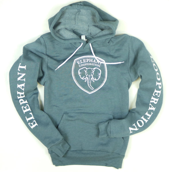 Slate Elephant Cooperation Logo Pullover Sweater