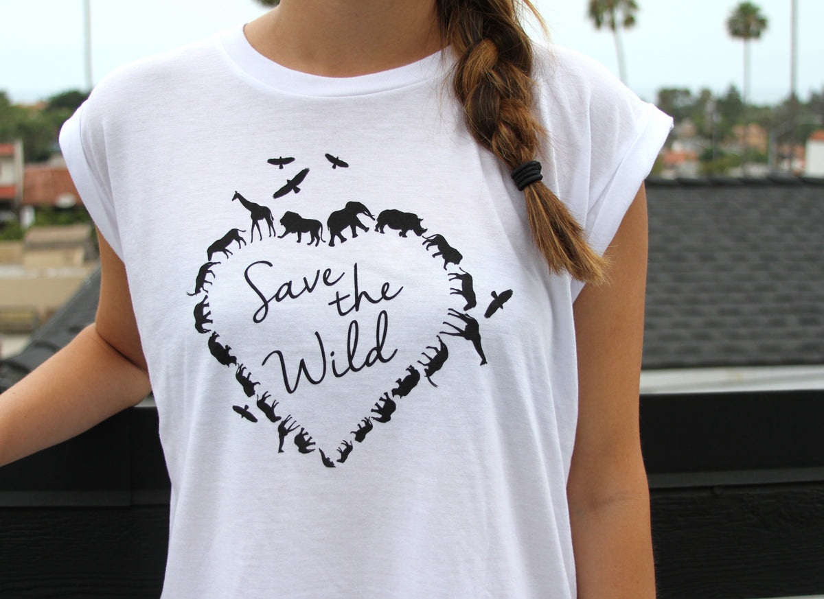 Save the Wild White T