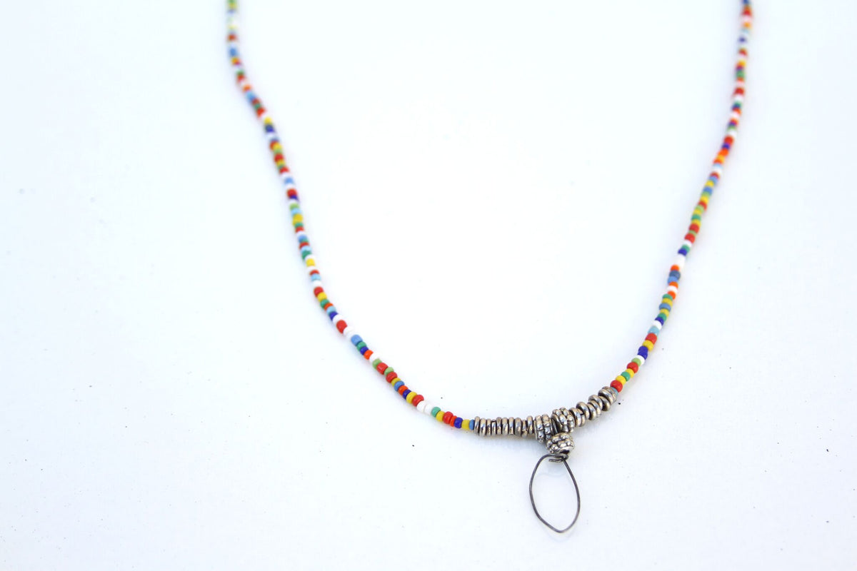 Handmade Multi-Colored Necklace