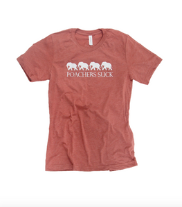Poacher's Suck Women's Clay Tee