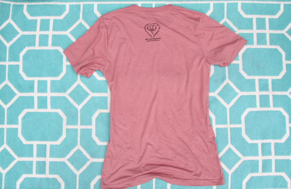 Jungle Love Women's Mauve Tee