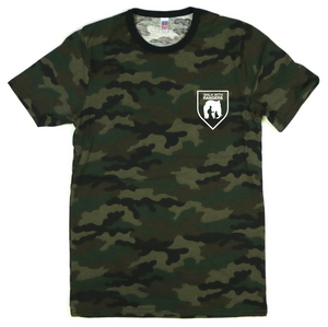 Camo Walk With Rangers Tee