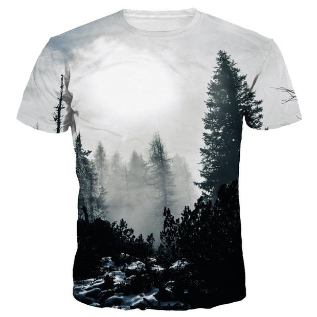 FOGGY MORNING UNISEX T SHIRT
