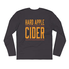 Hard Apple Cider Long Sleeve Fitted Crew