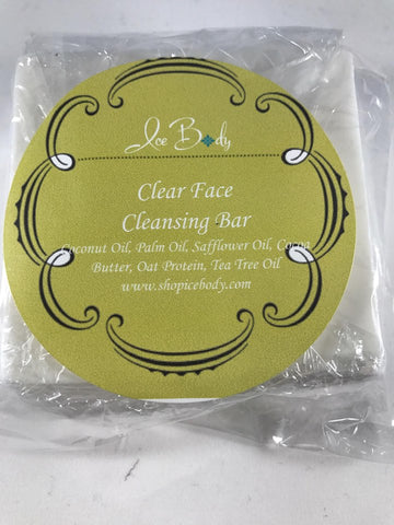 Clear Face Cleansing Bar
