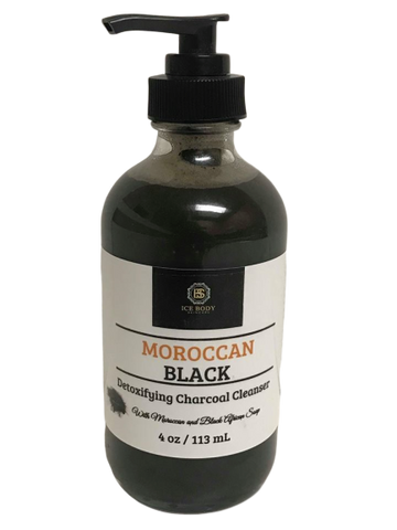 Moroccan Black Facial Cleanser
