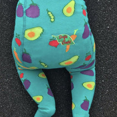 Slugs & Snails Organic Children's Tights - Veggie, Tights, Slugs & Snails, Baby goes Retro - Baby goes Retro