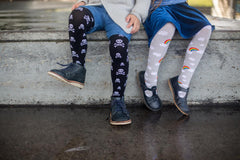 Slugs & Snails Organic Children's Tights - Ahoy, Tights, Slugs & Snails, Baby goes Retro - Baby goes Retro