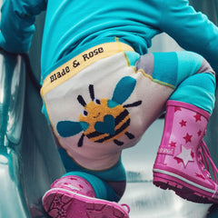 Blade & Rose Footless Tights - Buzzy Bee