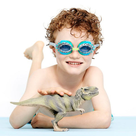 Bling2o Swimming Goggles - Prehistoric Times - Raptor Blue, Swimming Goggles, Bling2o, Baby goes Retro - Baby goes Retro