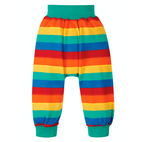 Frugi Organic Parsnip Pants - Rainbow Stripe NEW