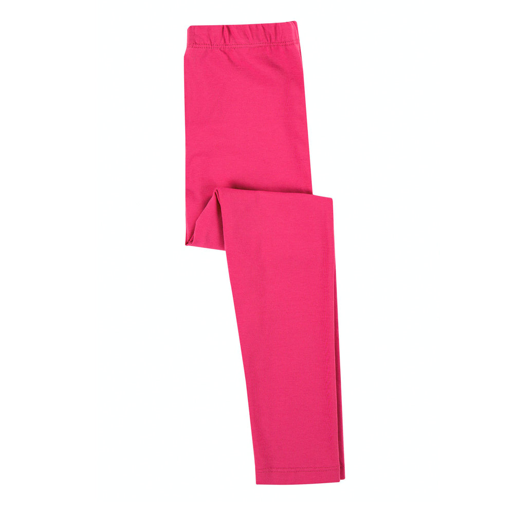Frugi Organic Libby Basic Leggings - Rich Pink