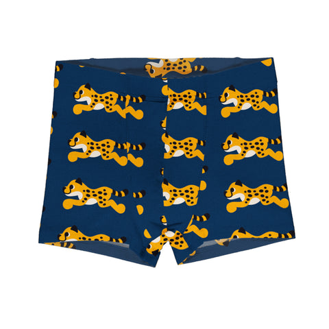 Coddi & Womple Organic Leggings - Rainbow Scales - Blue