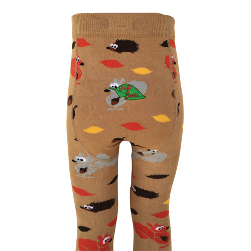 Slugs & Snails Organic Children's Tights - Autumn