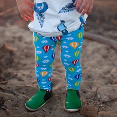 Slugs & Snails Organic Children's Tights - Hot Air Balloon, Tights, Slugs & Snails, Baby goes Retro - Baby goes Retro