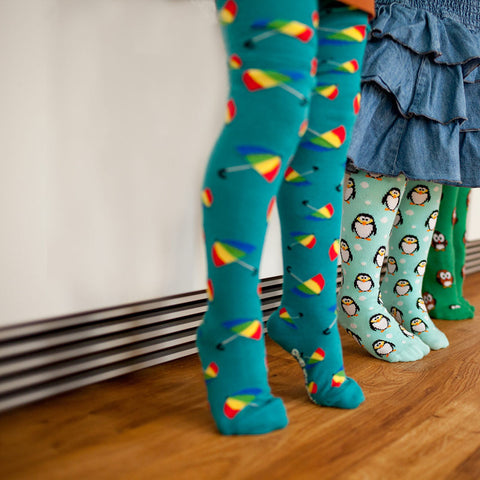 Slugs & Snails Tights - Brolly, Tights, Slugs & Snails, Baby goes Retro - Baby goes Retro